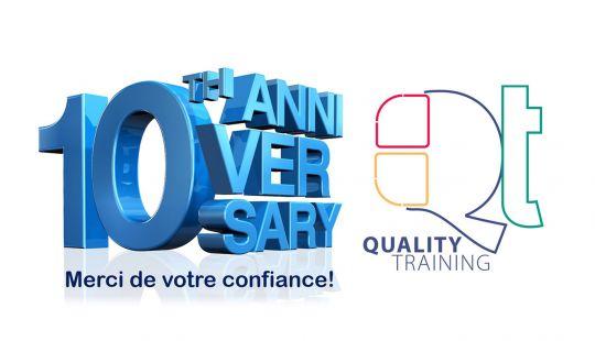 10e anniversaire de Quality Training
