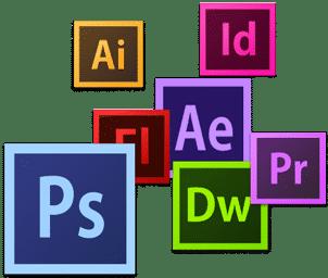 adobe illustrator photoshop indesign