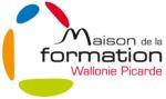 Logo maison de la formation wallonie picarde